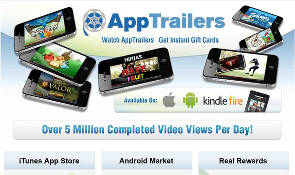 apptrailers website